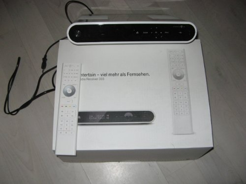 Herweck 303 WS Media Receiver 500GB (HDMI, S-Video, Scart, Upscaler 1080i) weiß