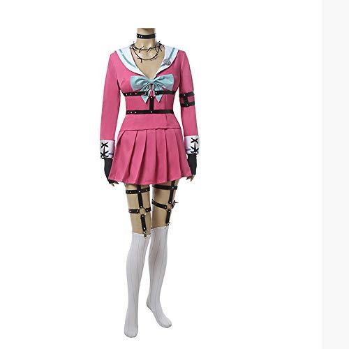 OUJIE Cosplay De MIU Iruma, Traje De Marinero Rosa para Mujer, Disfraz De Halloween, Regalo para Los Amantes del Anime,L