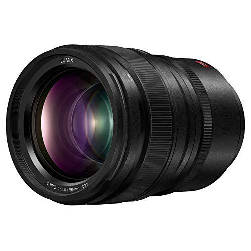Panasonic LUMIX S PRO 50mm F1.4 Lens, Full-Frame L Mount, Leica Certified, Dust/Splash/Freeze-Resistant for Panasonic LUMIX S Series Mirrorless Cameras - S-X50 (USA) (Renewed) -  S-X50-cr