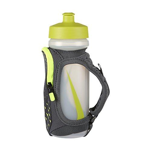 Nike 22oz Handheld Water Bottle (Gray/Volt)