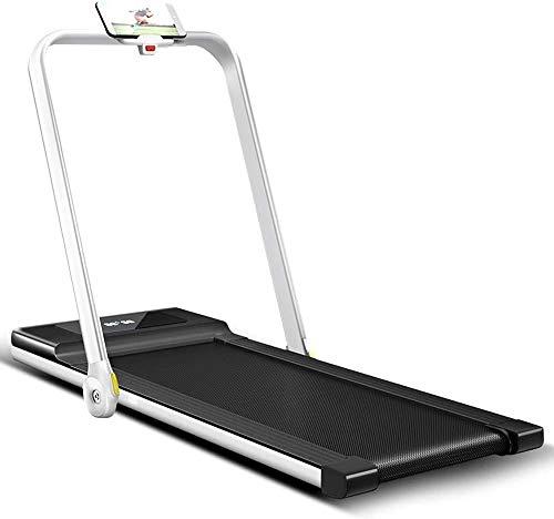 ZouYongKang Cinta de correr plegable 2 en 1, 3.5HP en la máquina para correr eléctrica de 3,5 hp, sin instalación, pantalla LED, máquina para correr para caminar, cinta de correr plegable ultra tranqu