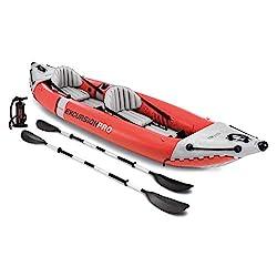 cheap Intex Excursion Pro Kayak, Professional Series Inflatable Fishing Kayak