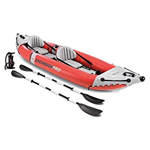 Intex Excursion Pro Kayak, Professional Series Inflatable Fishing Kayak 3