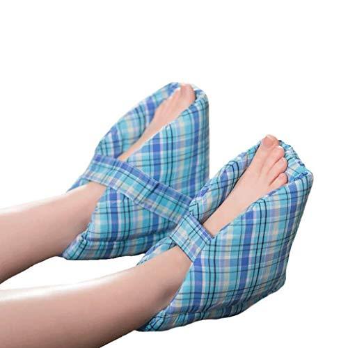 Heel protect Fußkissen, Fersenschutz, Fersenkissen, effektive Dekubitus- und Fersengeschwür-Erleichterung, ideal für geschwollene Füße, EIN Paar