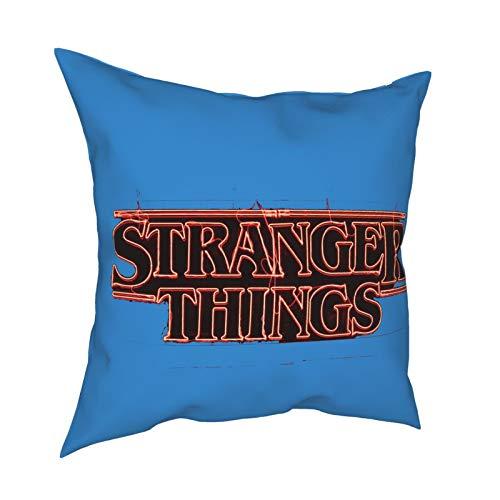 227 Stranger Things - Funda de almohada decorativa para el hogar, diseño moderno, funda de cojín para cama, cojines de asiento de...