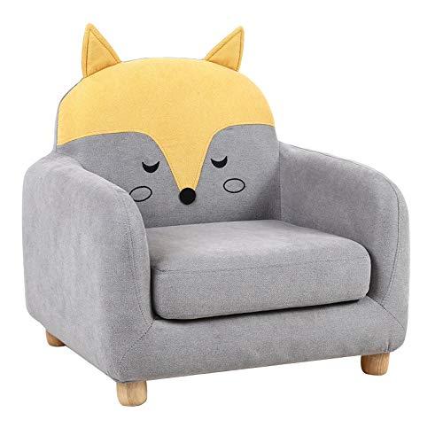 JIAHENGY Sofa Bettfunktion Kindermöbel,Kindersofasitz, Jungen- und Mädchensofa, Cartoon-Tiersofa zum Lesen geeignet-1