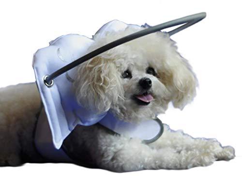 Magdalenas de Halo guía para ciegos perros, medio blanco