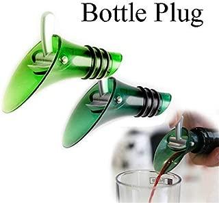 DIVIC Cap Sox - Red Wine Aerator Plug Cap Bottle Pour Pourer Shutoff Silicone Seal Caps Stopper Holders Helper - Bag Mulled Holders Stopper Wine Seals Sealed Bottle Cork Holder