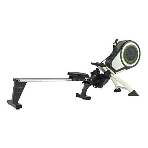 Tunturi Vogatore Go Air Rower, Bianco–Grigio, One Size, 16grw50000