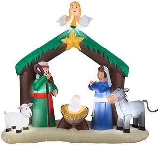 Gemmy 36707 Airblown Nativity Scene Christmas Inflatabl