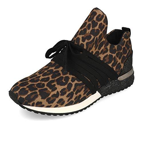 La Strada 1804189 Sneaker Lycra Brown Leopard 41
