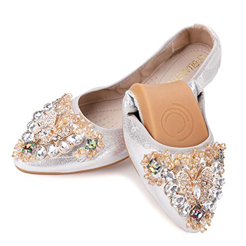 Top 10 best selling list for bling bridal shoes flats