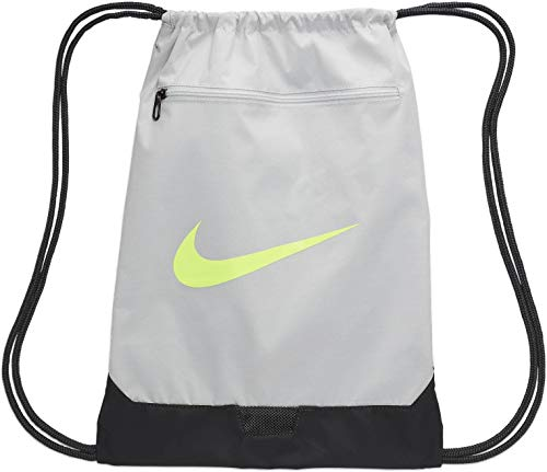 Nike Unisex-Adult Nk Brsla Gmsk - 9.0 (23l) Luggage- Garment Bag, Photon Dust/Dark Smoke Grey/Ghost Green, MISC