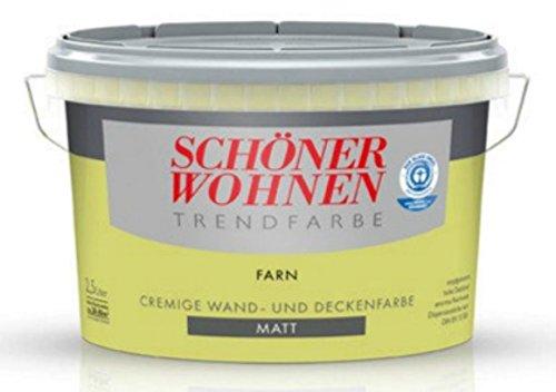 2,5 Liter SCHÖNER WOHNEN FARBE Trendfarbe »farn«, matt