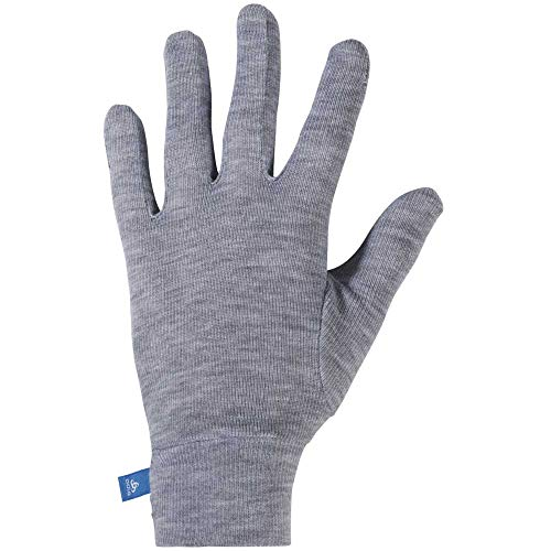 Odlo Kinder Gloves Originals WARM Kids Handschuhe, Grey Melange, XS