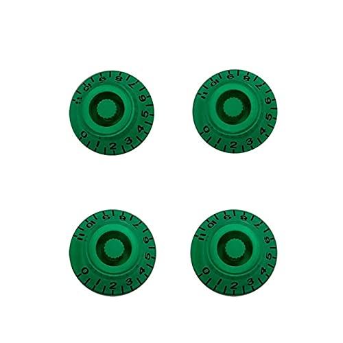 Duradero Conjunto de piezas de 4 PC para EE. UU. GIB SG FADED T RECHABRES DE CONTROL DE CONTROL DE LA VELOCIDAD PERRAS DE CONTROL TONO DE VOLUMEN para guitarra eléctrica de repuesto