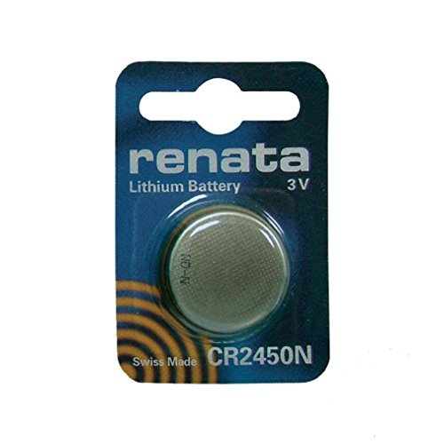 Renata CR 2450 3V Lithium Knopfzelle Batterie DL 2450, ECR 2450, BR 2450 (10 X CR 2450)