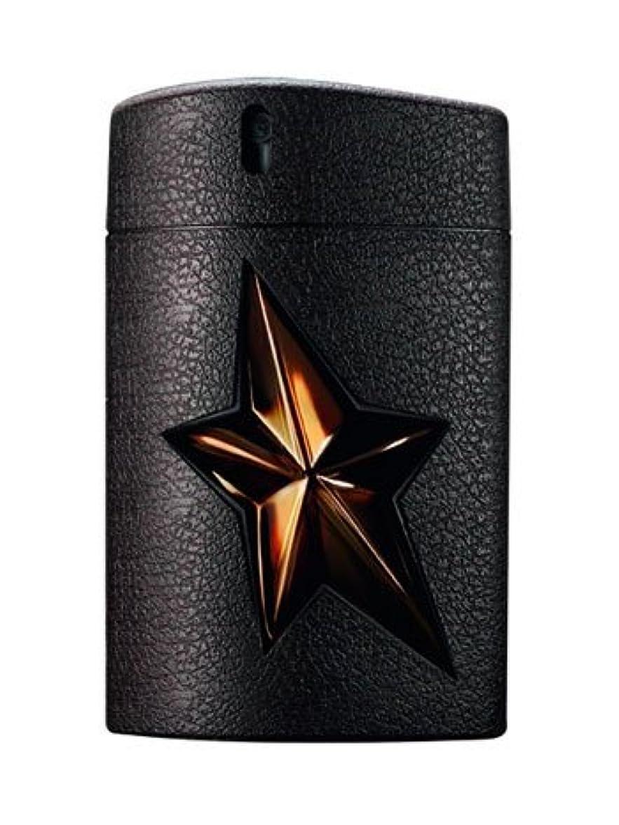 を通して幸運なことにけがをするA*Men Les Parfums de Cuir (エイメン レ パルファム デ キュアー) 3.4 oz (100ml) EDT Spray Refillable by Thierry Mugler for Men