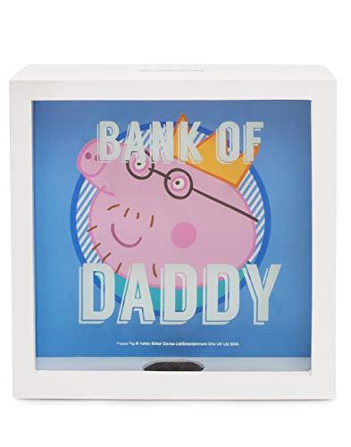 Hucha de madera de Peppa Pig Bank Of Dad de niños