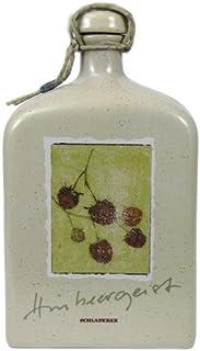 Rarität: Schladerer Himbeergeist Keramikflasche 0,5l