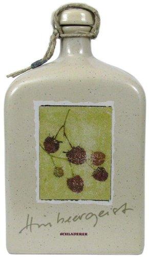 Rareza: Schladerer Espíritu de frambuesa en botella de cerámica 0.5l