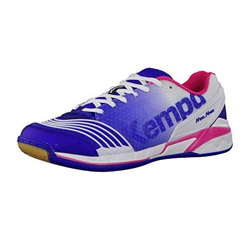 Kempa Kempa attack ONE women - elektrikblau/weiß/pink, Größe:4.5