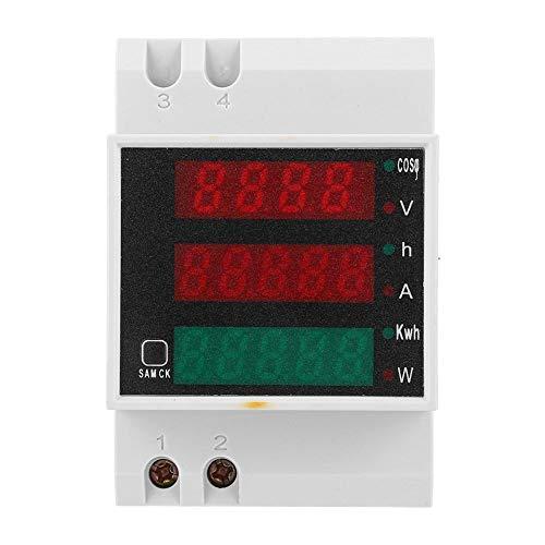 Medidor de voltaje, medidor eléctrico multifunción D52-2047 Medidor de factor de potencia...