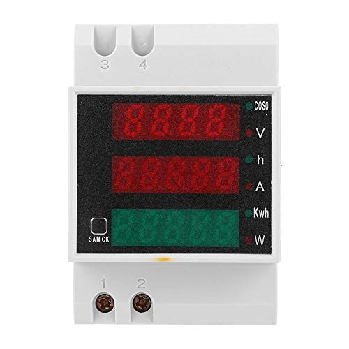 Digitaler Stromzähler, Spannungsleistungsfaktor-Messgerät AC200~450V Multifunktions-Stromzähler Strom Spannungs-Leistungsfaktor-Messgerät