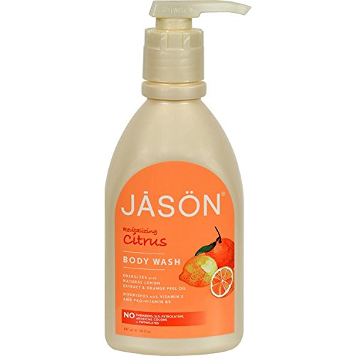 Citrus Satin Body Wash with Pump - 900ml