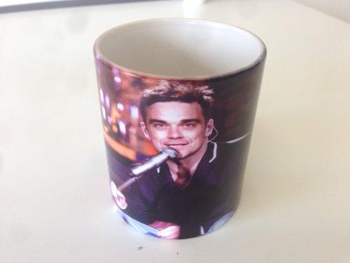 Robbie Williams Fanartikel Tasse