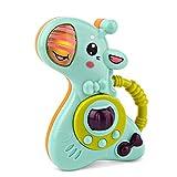 JTLB Juguete de Tambor de león Musical, Juguetes de Piano de Tambor de música Lindo Juguete para niños pequeños con Luces y Sonido Juguete Educativo de música para bebés y niños pequeños