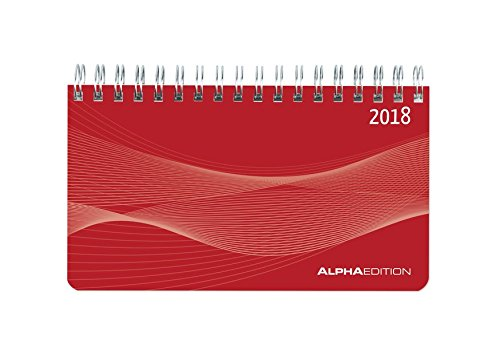 Agenda Planning settimanale rossa 2018 15,6x9 cm