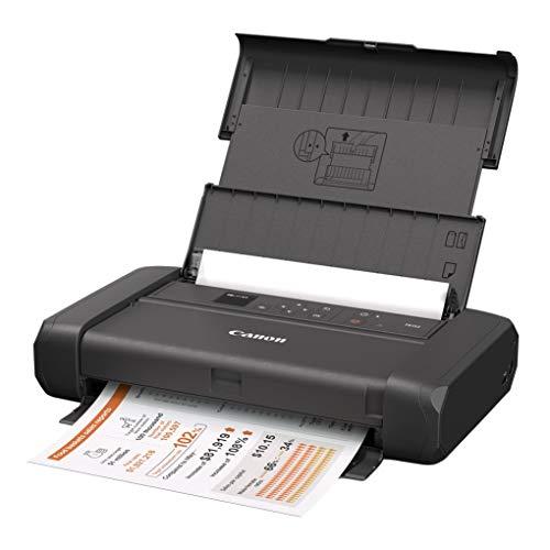 Canon A4モバイルプリンター TR153 (コンパクト/無線LAN搭載/5色ハイブリッドインク) テレワーク向け