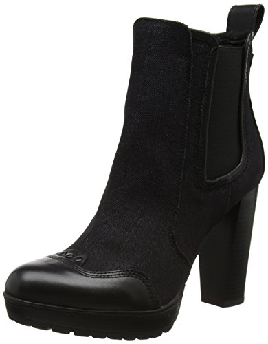 G-STAR RAW Damen Shona Chelsea Boots, Schwarz (Black), 39 EU