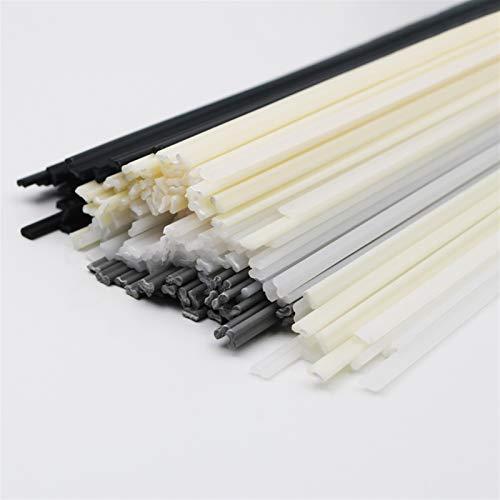 Soldar electrodos de barra 10 unids Barras de soldadura de plástico ABS/PP/PVC/PE Soldando palitos de soldadura 5x2mm para la soldadora de plástico Pistola de parachoques de parachoques Suminist
