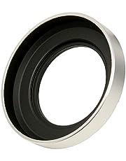 エフフォト F-Foto 互換 レンズフード ニコン Nikon HN-40 (メタルタイプ) 対応/シルバー/SILVER (ネジコミフード HN-40 NIKKOR Z DX 16-50mm f/3.5-6.3 VR用) C-HN40-S