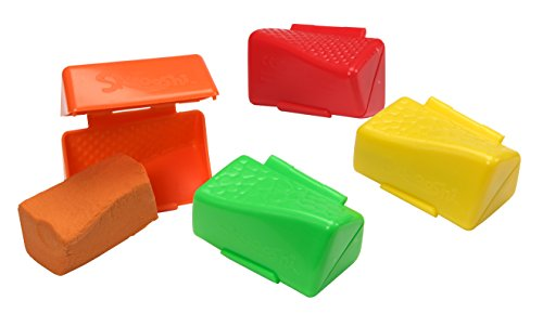 Skwooshi 45012 Soft-Knete Rainbow Pack Beluga Spielwaren 45012-Skwooshi, bunt
