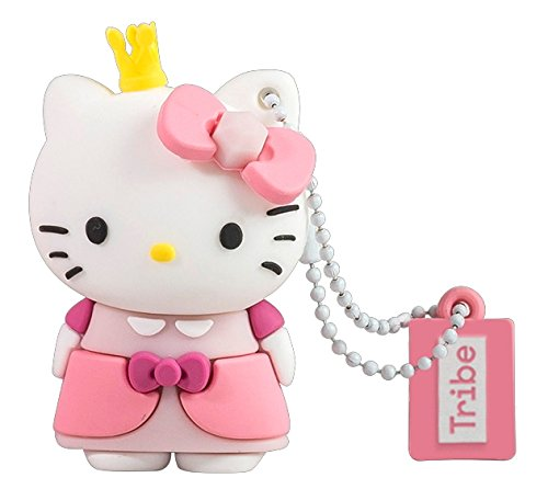 Llave USB 16 GB Hello Kitty Princess - Memoria Flash Drive 2.0 Original Hello Kitty, Tribe FD004510