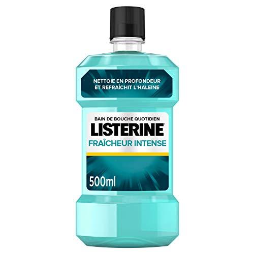 Listerine Bain de Bouche Fraicheur Intense, 500ml