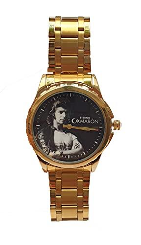 Camaron de la Isla Reloj de Pulsera Personalizado Elegante y Exclusivo. Incluye Caja de Regalo. Eterno Camaron. Arte Flameco.