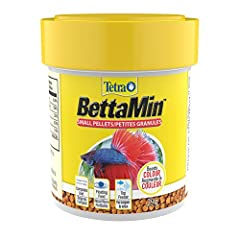 BETTA FORMULATION Nutritionally complete daily diet for your Siamese fighting fish (betta splendens) COLOR-ENHANCING Includes carotenoids to enhance your betta's naturally brilliant colors FLOATING PELLETS Ideally sized for top-feeding bettas PROCARE...
