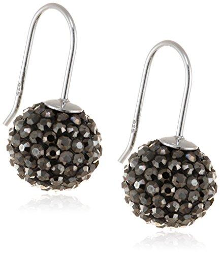 Engelsrufer Damen-Ohrhänger Crystal ball 925 Silber rhodiniert - ERE-17-ZI-S