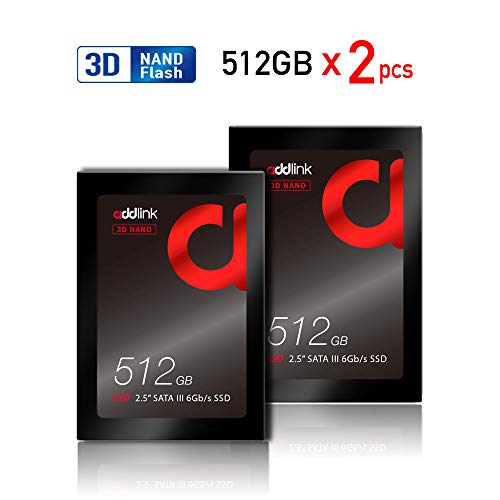 addlink S20 3D NAND SSD 120GB SATAIII 6Gb/s 2.5-inch/7mm Internal Solid State Drive with Read 510MB/s Write 400MB/s (3D NAND 120GB)