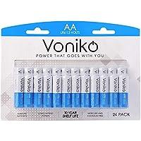 24-Pack Voniko Premium Grade Alkaline Double AA Batteries