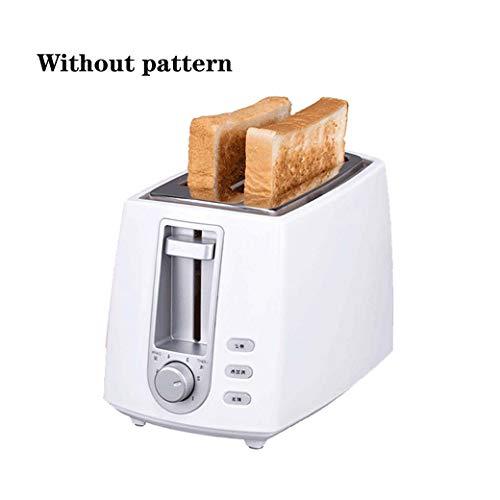 Dyong elektrische broodrooster van roestvrij staal voor het huishouden, automatische broodbakmachine voor het bakken van brood, sandwich, 2 stuks