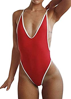 Best sexy red one piece Reviews