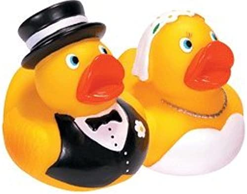 Schylling Bride & Groom Rubber Duck Set by Schylling