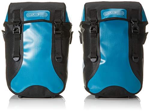 Ortlieb Unisex Adult SPORT PACKER CLASSIC fietstassen Travel, petrol-zwart 2x 15 l, One Size
