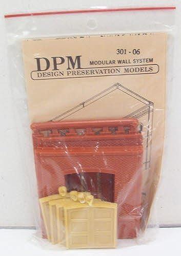 HO DPM Dock Level Loading Door (4) by boisland Scenics