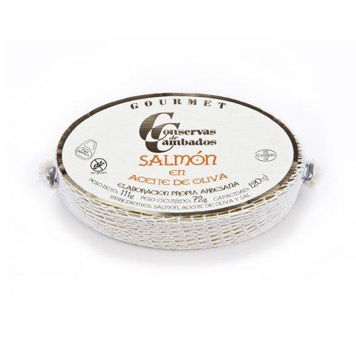 Conservas Cambados. Salmón fresco en aceite de oliva